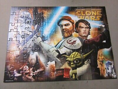 100 Piece Jigsaw Puzzle - Star Wars The Clone Wars