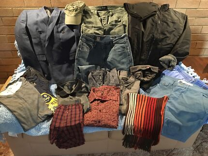 Men's Wardrobe Package Sz M