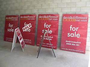 Real Estate Signs, Re-printable Re-usable signage Holland Park Brisbane South West Preview