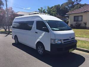 Toyota Hiace Commuter Bus 2006 Automatic, 1 Owner, Full log book! Lidcombe Auburn Area Preview