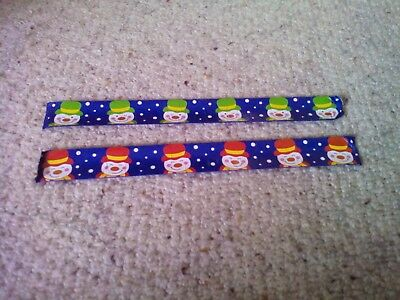 Snowman wrist/slap bands