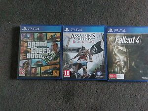 Selling 3 PS4 Games Mont Albert Whitehorse Area Preview