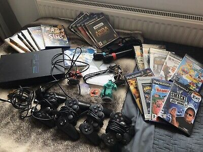 Sony PlayStation 2 Black Console Bundle