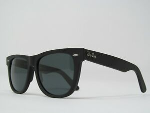 da1fcee17ed Ray-Ban Wayfarer 2140 Blue Gray Lenses 50mm on Matte Black Frame Sunglasses