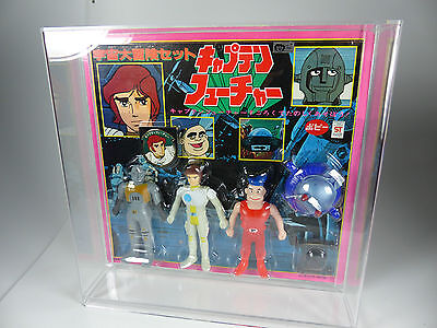 Captain Future /Capitaine Flam Popy Figure Set in Acryl Box Japan Special  MOSC