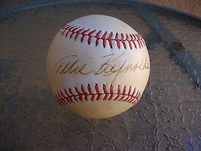 Allie Reynolds Signed Official American League Baseball Jsa Loa