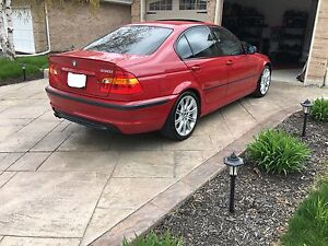 BMW E46 330i ZHP 6SPD PART OUT (IMOLA RED)