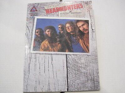 The Kentucky Headhunters Electric Barnyard Book Sheet Music Guitar Tab Tablature