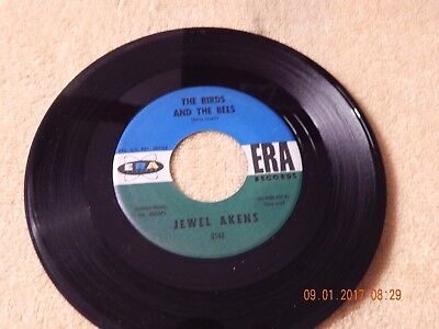 Jewel Akens : The Birds And The Bees 45 Rpm Era # 3141