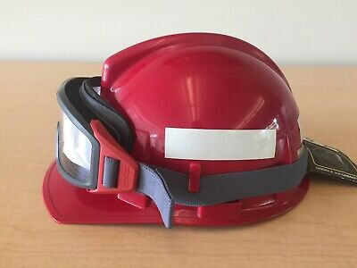 Msa Wildland T Topguard Ess Firepro Googles Hard Hat Wildfire Ratchet Nfpa
