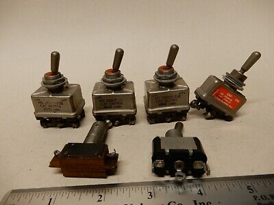Micro Switch Ms25307-232 Toggle Switches Qty 3 Plus More
