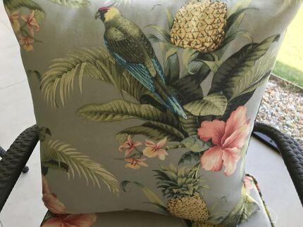 Tommy Bahama Outdoor Indoor Cushions ex display bargain!!