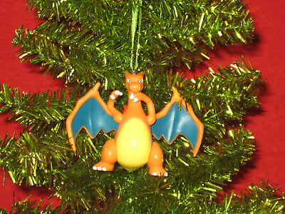 Pokemon Christmas Ornaments (Charizard Pokemon Christmas Figurine Ornament)