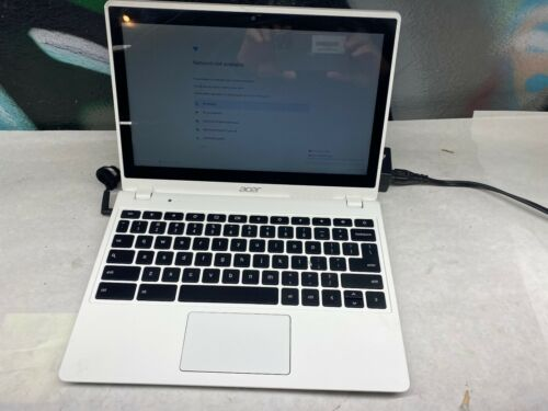 "Acer Chromebook C720 11.6"" Celeron 1.4GHz 4GB RAM - TESTED - AC ADAPTER"