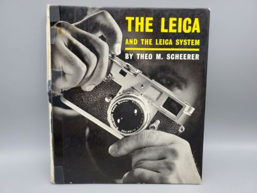 Vintage The Leica & The Leica System Camera Guide Book by Theo M. Scheerer