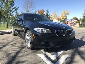 2012 BMW 535i xDrive M package winter tires