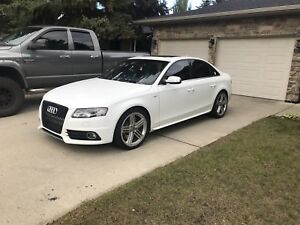 2011 Audi S4 with winter tires!
