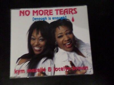 CD SINGLE - KYM MAZELLE & JOCELYN BROWN - NO MORE TEARS