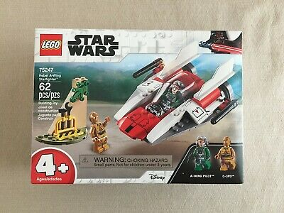 LEGO 75247 - Rebel A-Wing Starfighter - Star Wars - NEW SEALED