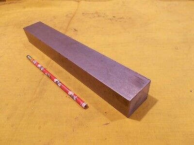 1018 Cr Steel Flat Bar Stock Tool Die Rectangle Plate 1 12 X 1 34 X 12 Oal