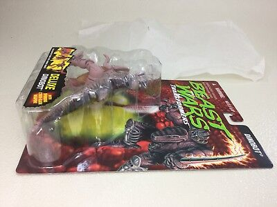 UNRELEASED TEST PACKAGING Transformers Beast Wars Dinobot Rock Packaging w/ pips