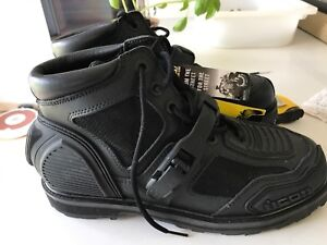 Icon motorcycle boots size 12