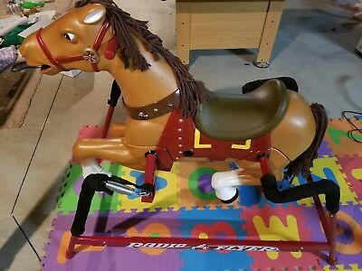 Liberty Rocking Horse (Official Radio Flyer Interactive Liberty Spring Horse - Gently Used Like N E W)