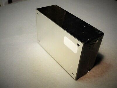Radio Shack Project Enclosure Box 4x2-58x1-12 Plastic Waluminum Cover New