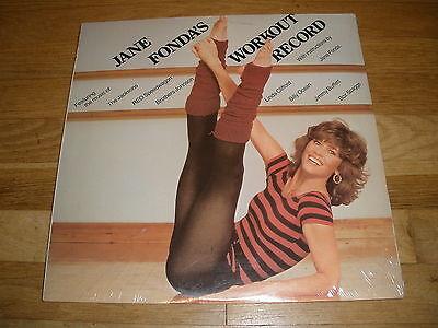 JANE FONDA workout record LP Record - Sealed