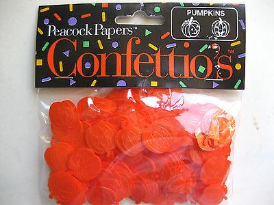 Halloween Confetti-Orange Pumpkins - Orange Halloween Pumpkins