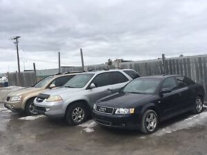 All three vehicles for sale