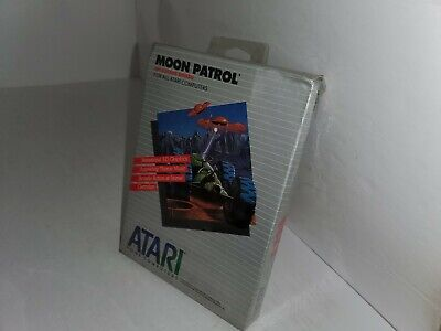 Nuevo Precintado Con / Dañado Caja Luna Patrol Cartucho Para Atari 400/800/XL...