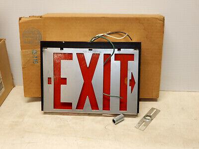 Vintage Safety Exit Light Original Box