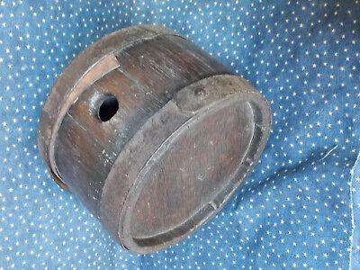Revolutionary War era Wooden Canteen  Excellent 18th early 19th century keg,cask