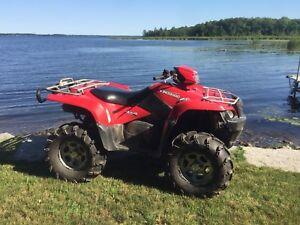 2009 Suzuki King Quad ATV