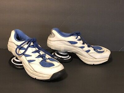 Z COIL Freedom Blue White Womens Size 8 Pain Relief Footwear Comfort Shoe Spring