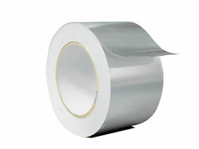 Wod Heavy-duty Aluminum Foil Tape For Hvac Air Ducts 2.5 In. X 50 Yds