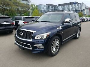 2015 Infiniti QX80 8-Passenger One Owner, No Accident, Technology Pac