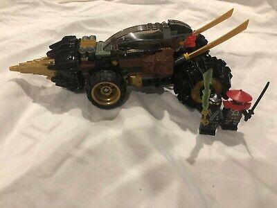 LEGO Ninjago Cole's Earth Driller (70502). 100% Complete