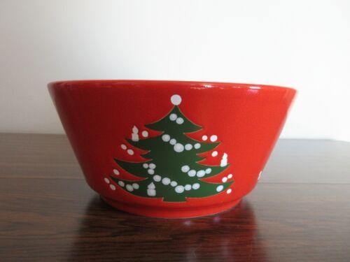 "WAECHTERSBACH CHRISTMAS TREE 8 3/4"" SALAD OR SERVING BOWL, PERFECT SIZE, EUC"