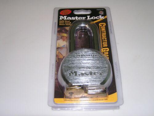 """Master Lock - 930DLHPF - 2 1/2"""" Industrial Contractor Grade - Solid Steel"""