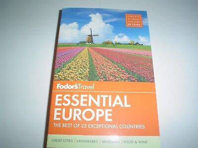 Travel Guide: Fodor's Essential Europe : The Best of 25 Exceptional Countries 3