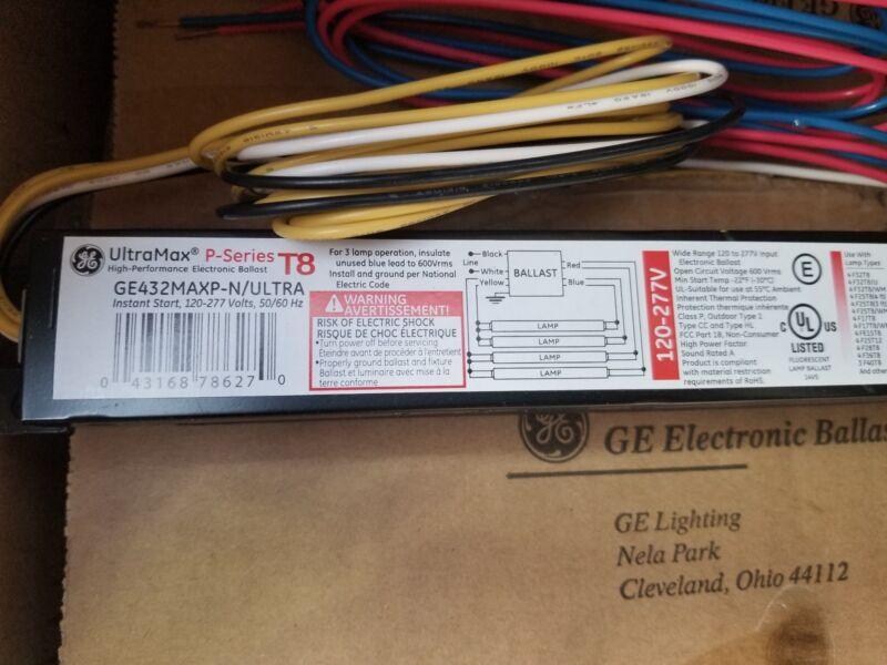 (BUNDLE OF 9)GE ELECTRONIC BALLAST GE432MAXP-N/ULTRA