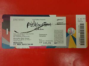 MADONNA - Ticket 11.11.2015 REBEL HEART TOUR - BERLIN GERMANY - <span itemprop=availableAtOrFrom>Gdynia, Polska</span> - MADONNA - Ticket 11.11.2015 REBEL HEART TOUR - BERLIN GERMANY - Gdynia, Polska