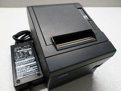 Epson M129c Parallel 203dpi Pos Receipt Printer W Power Supply Tm-t88iiip
