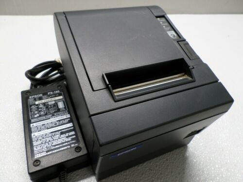 Epson M129C Parallel 203dpi POS Receipt Printer w/ Power Supply TM-T88IIIP