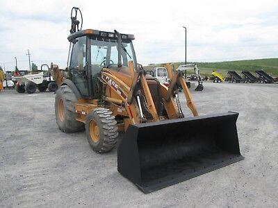 Case 590 Super M Farm Tractor Loader Backhoe