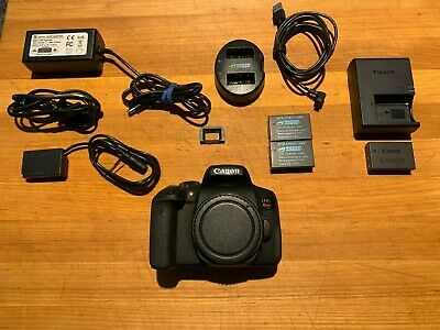 Canon EOS Rebel T6i 24.2MP DSLR Camera - Black (Body Only)
