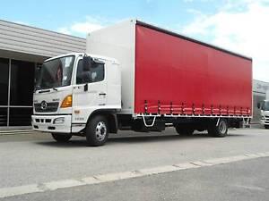 Hino FE 1426-500 Series XLong Auto Air Curtainsider Regency Park Port Adelaide Area Preview