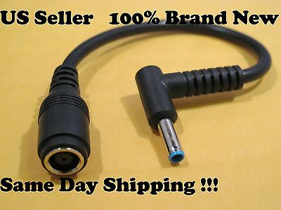 Power Charger converter Cable Adapter For HP Blue Tips US